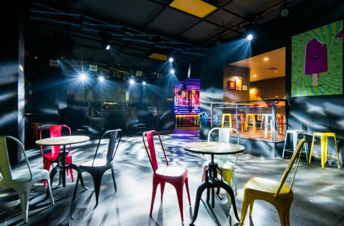 Bollywood Theme Party at the sugar factory - le meridien