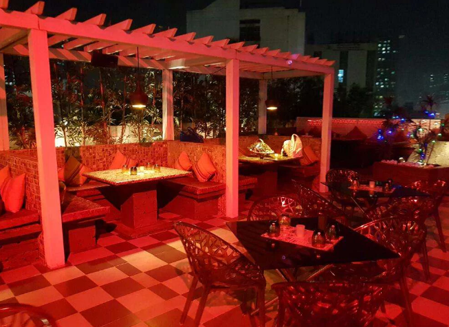 Bollywood Theme Party at the tipsy terrace - radisson