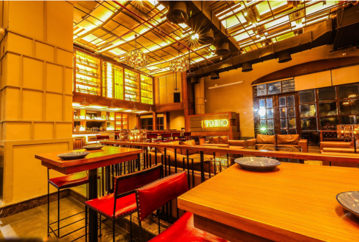 Bollywood Theme Party at trend - bar   kitchen