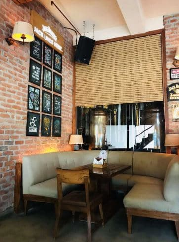 Bollywood Theme Party at uptown fresh beer cafe