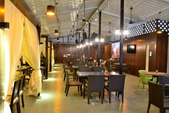 Bollywood Theme Party at village roof top lounge and dining