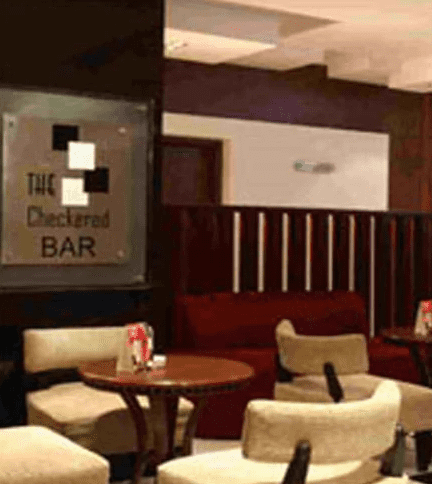 checkered bar - mgm mark a perfect corporate party place