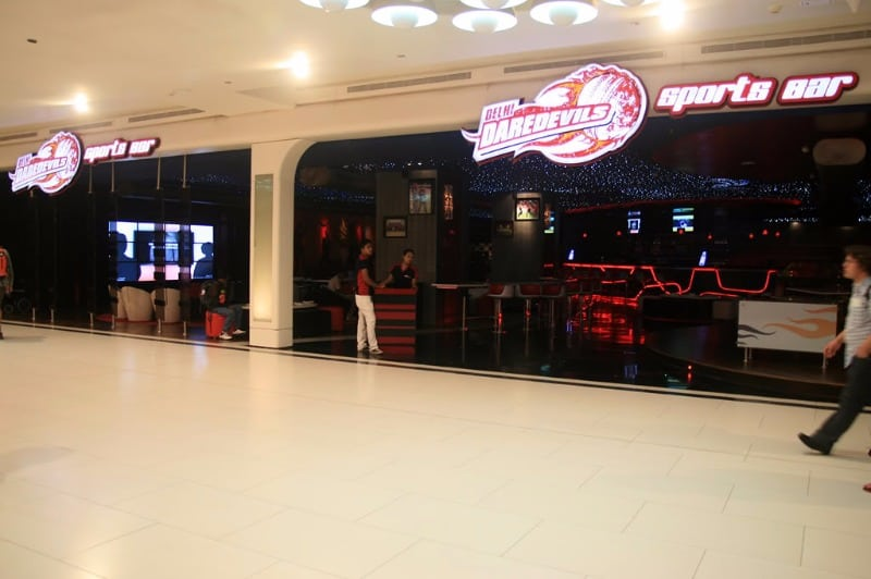 delhi daredevils sport bar a perfect corporate party place