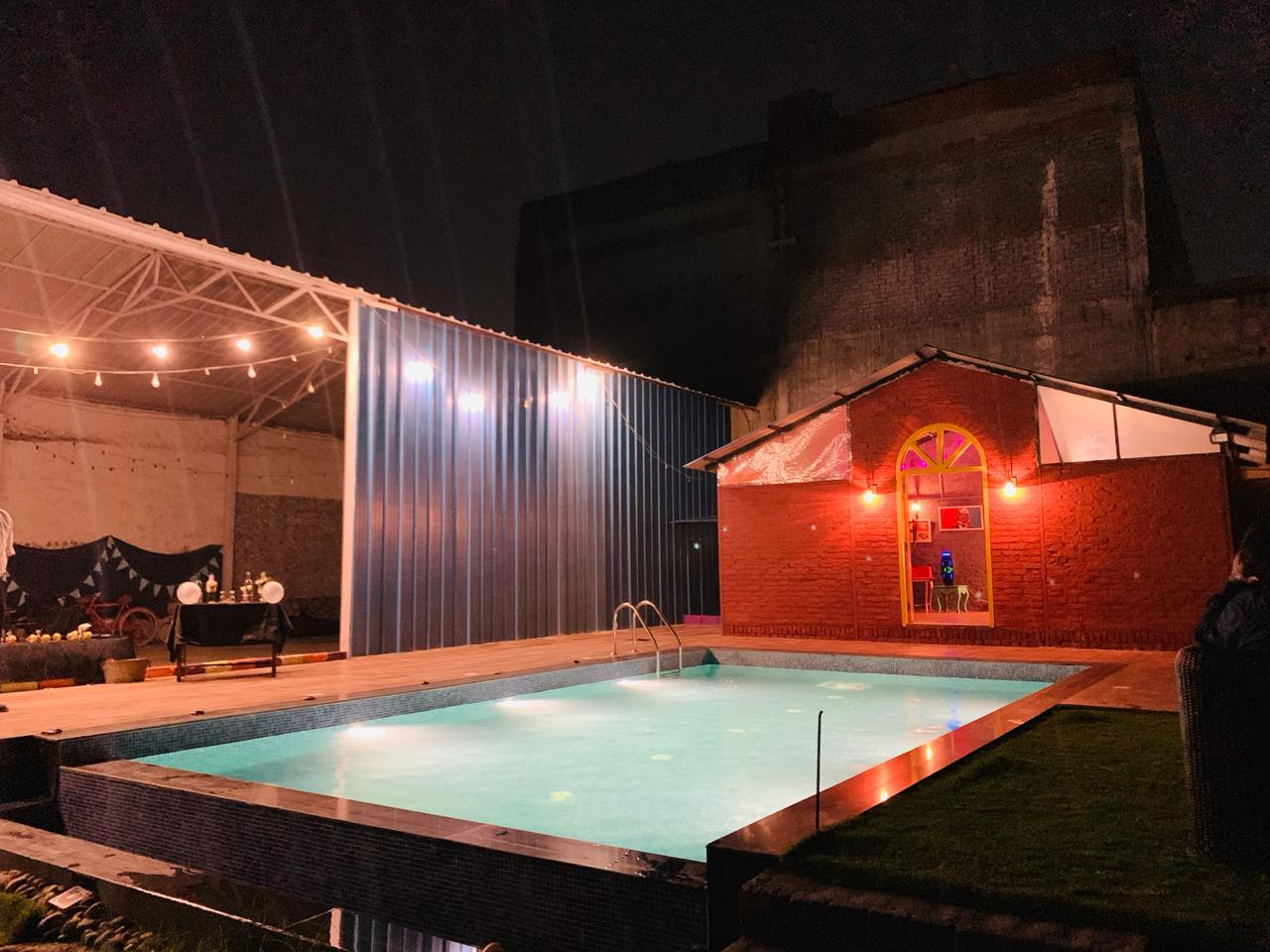 exclusive party packages of Farmhouse 1020 Chattarpur