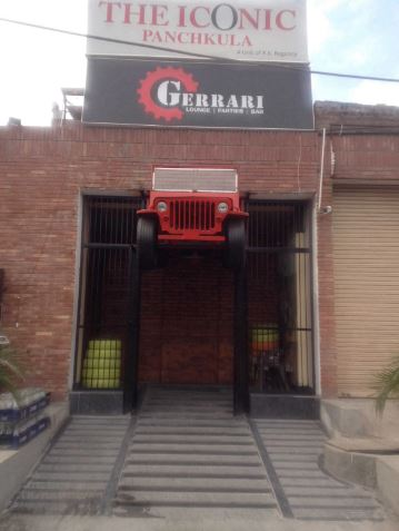 gerrari a perfect corporate party place