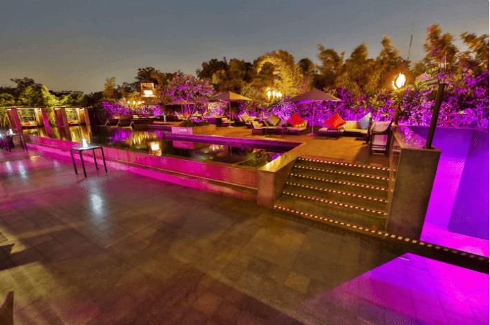 i-kandy - le meridien gurgaon a perfect corporate party place