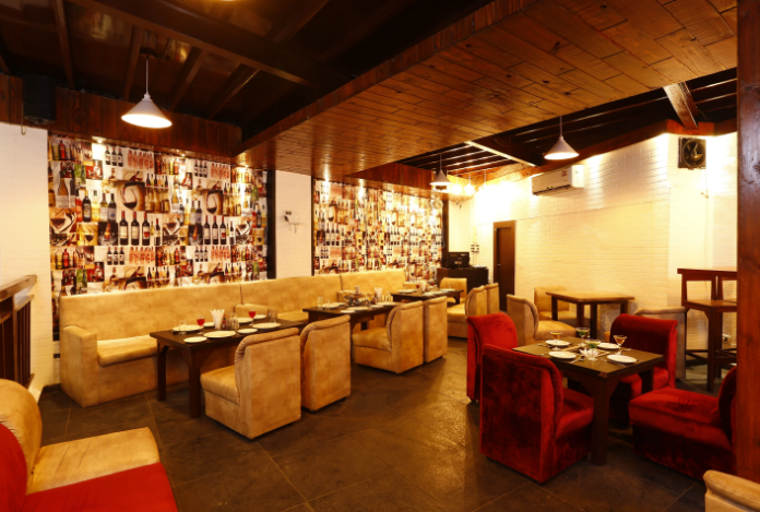 Interior of amuse Malad West
