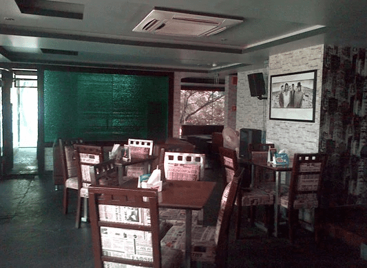 Interior of black jack New BEL Road