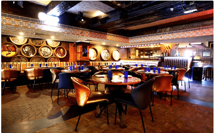 Interior of blues Connaught Place