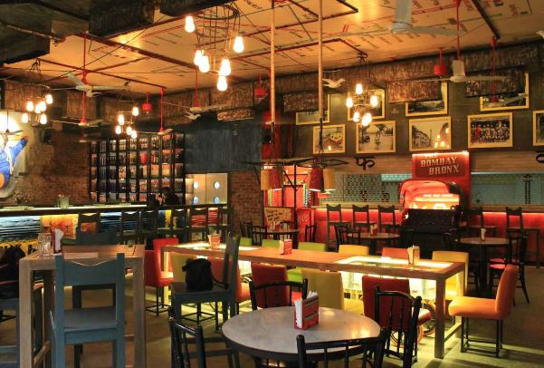 Interior of bombay barcode Dhole Patil Road
