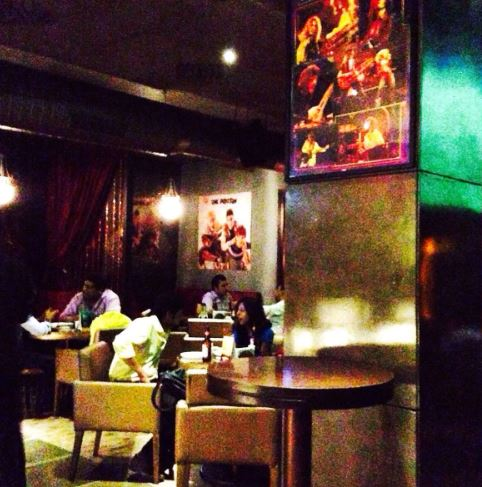Interior of brass monkey goregaon East