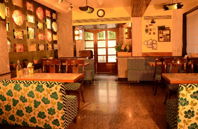 Interior of caf   popo Near Andheri West Station