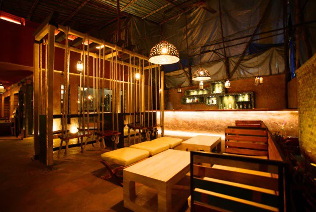 Interior of copa Juhu