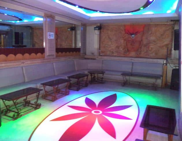 Interior of dakshin restaurant Brigade Road