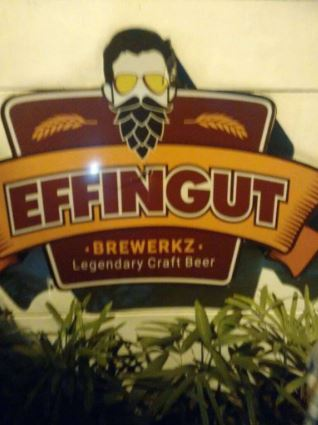 Interior of effingut brewerkz Koregaon Park
