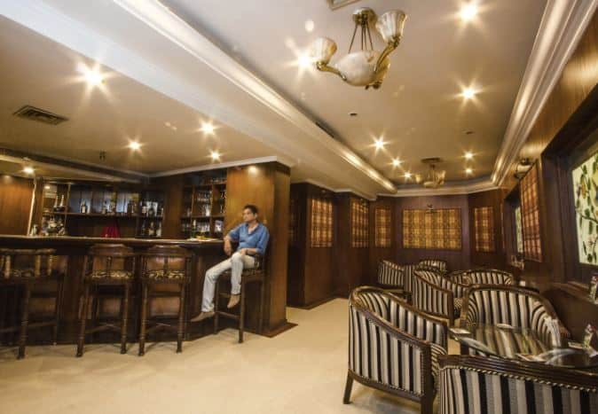 Interior of great moments - hotel bangalore international Race Course Road