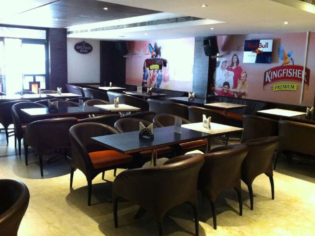 Interior of guinnessd bar T. Nagar