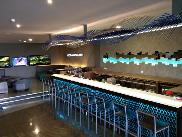 Interior of ink 303 Nungambakkam