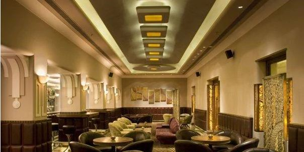 Interior of insomnia - taj vivanta Khan Market
