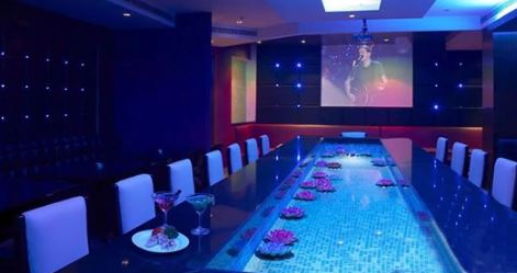 Interior of liquid ice - hotel paradise Sikar Road