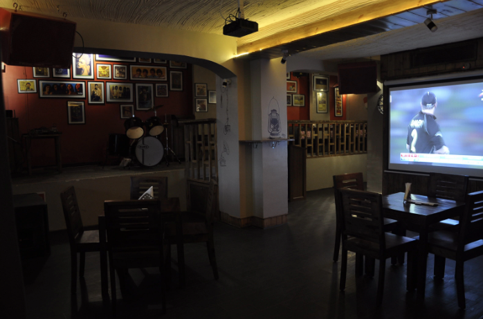 Interior of Matchbox Hauz Khas Village