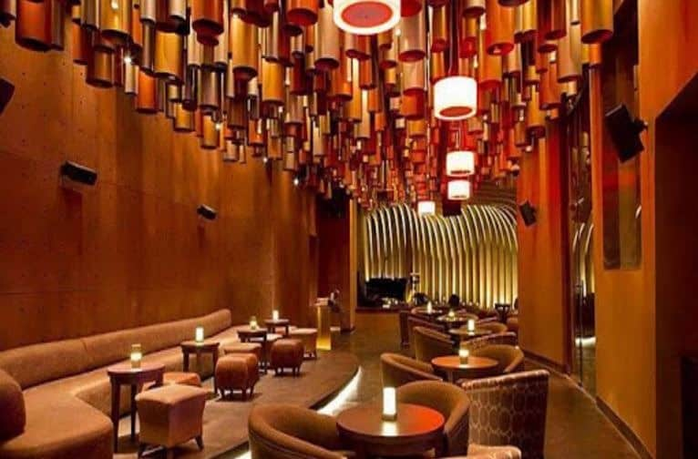 Interior of mix lounge and bar - the westin gurgaon Sector 29