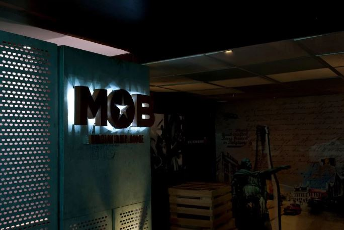 Interior of mob Film Nagar
