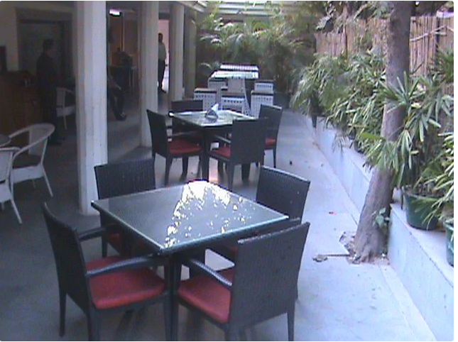 Interior of oxy lounge Sector 12