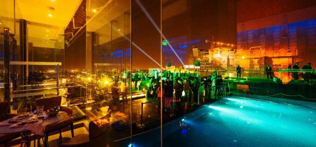 Sky Bar - Renaissance Lucknow Hotel