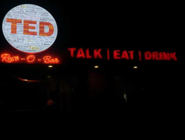 Interior of ted resto bar Goregaon East