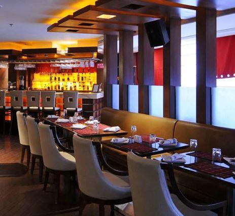 The Fire Ball - Ramada Hotel
