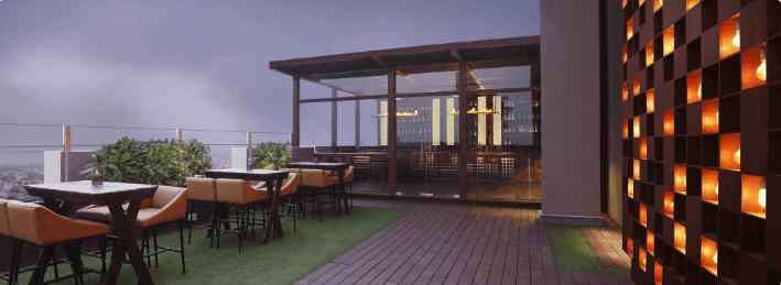 Vibe - The Sky Bar - Hilton Garden Inn