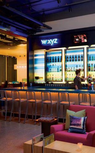 W XYZ Bar - Aloft Bengaluru Cessna Business Park