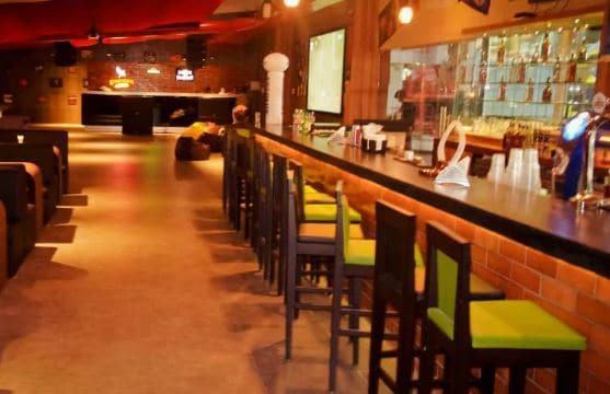 Interior of xtreme sports bar Sarjapur Road