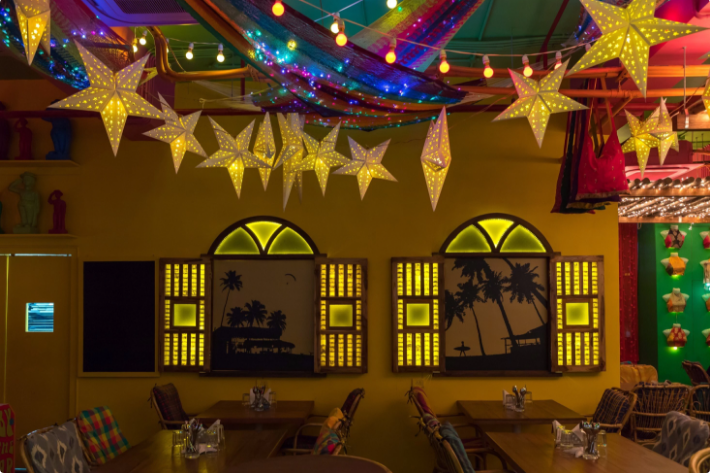 lady baga a perfect corporate party place