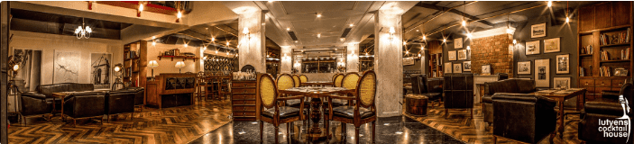 lutyens cocktail house a perfect corporate party place