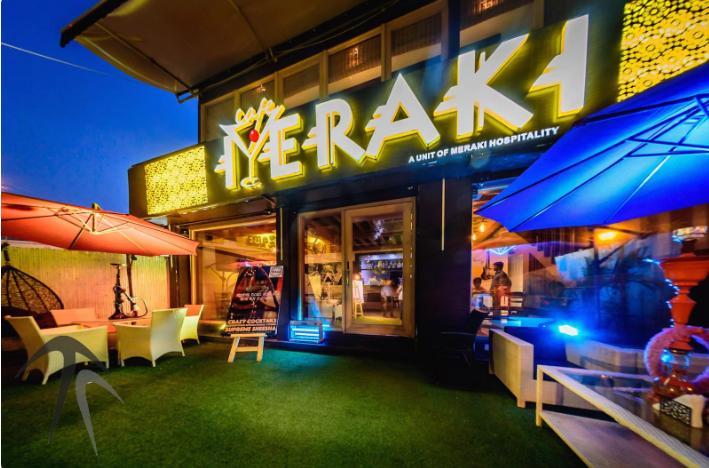 meraki cafe   bar a perfect corporate party place