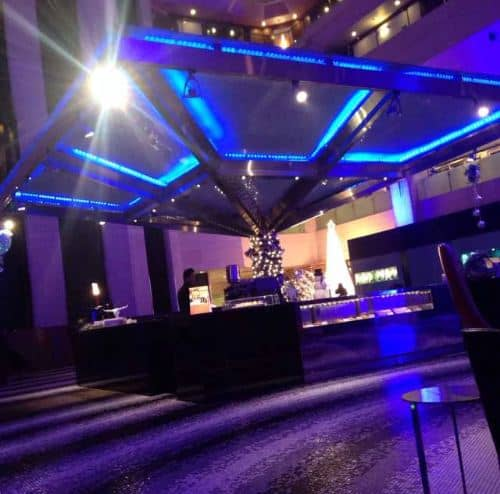 nero - le meridien a perfect corporate party place