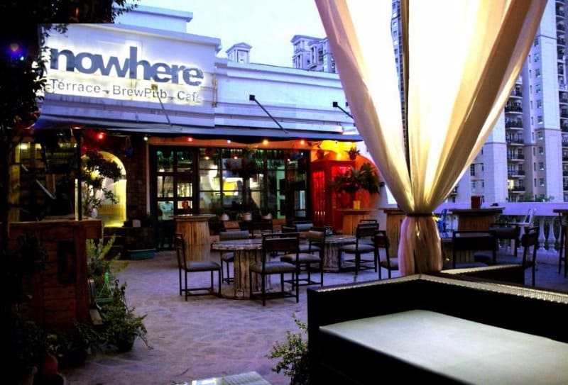 nowhere terrace brewpub cafe a perfect corporate party place