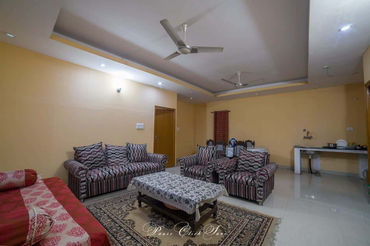 Outdoor Sitting Arrangement at Farmhouse 3301 - Sector 135 Noida