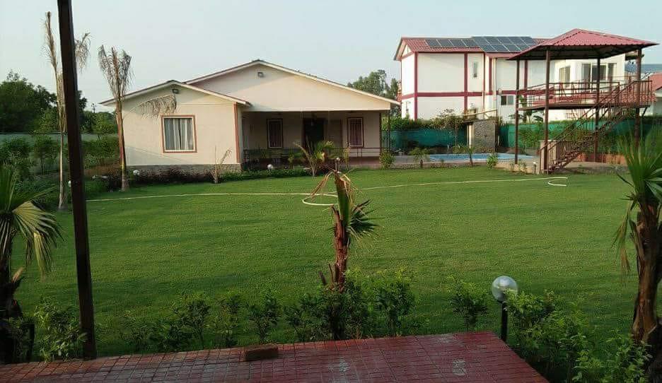 Seating Area of Farmhouse 3010 - Sector 135 Noida