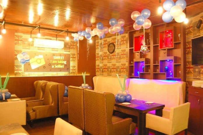 selfie lounge restro   bar a perfect corporate party place