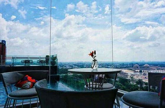 sky bar - renaissance lucknow hotel a perfect corporate party place