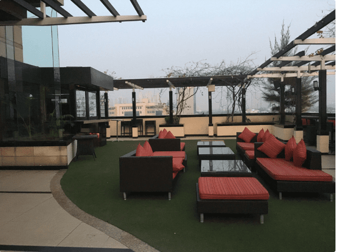 sky lounge - park plaza a perfect corporate party place