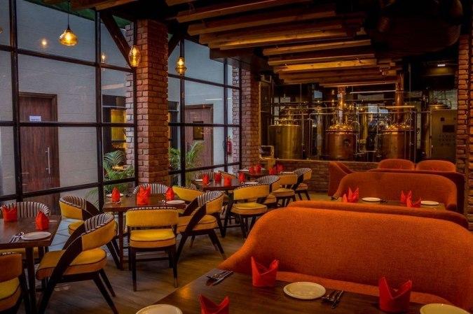 Terrace Area at Cervesia