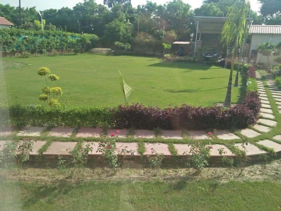 Terrace Area at Farmhouse 3010 - Sector 135 Noida