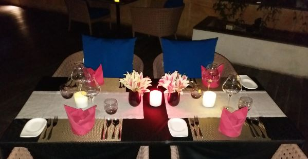 Terrace Party at aire skybar and grills - crowne plaza jaipur