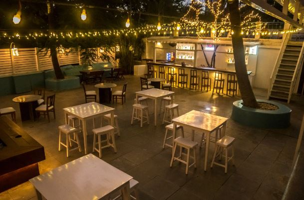Terrace Party at beetroot bistro
