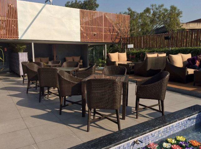 Terrace Party at city cabana