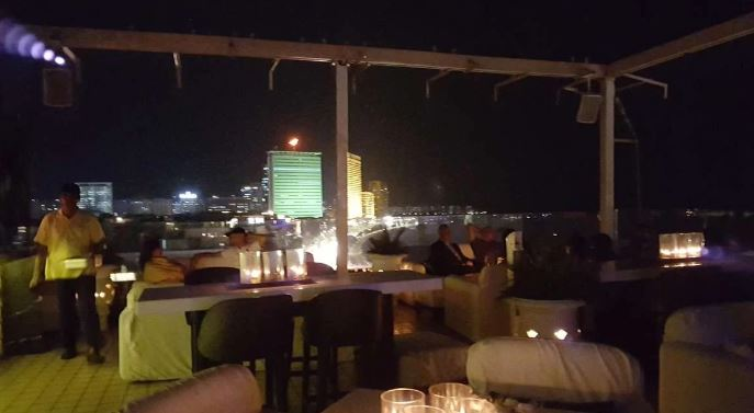 Terrace Party at dome - intercontinental